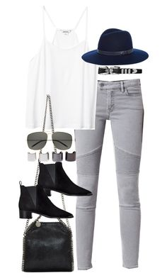 """Inspired outfit with all saint jeans"" by pagesbyhayley ❤ liked on Polyvore featuring AllSaints, Monki, STELLA McCARTNEY, Acne Studios, rag & bone, Yves Saint Laurent and Luv Aj"