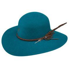 bb124d3fb978b Charlie 1 Horse Free Spirit Felt Hat - Teal