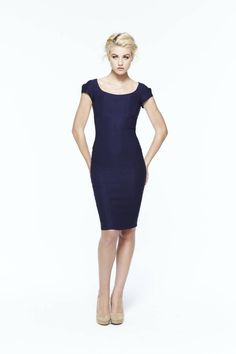 paper crown: new haven dress #navy