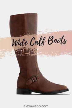 10 Places to Shop Wide Calf Boots - Plus Size Boots - Plus Size Fashion for Women - alexawebb.com #alexawebb #plussize #widecalf Duo Boots, Plus Size Boots, Wide Calf Boots, Plus Size Fashion For Women, Fashion Boots, Plus Size Outfits, Riding Boots, Calves, Zip Ups
