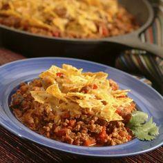 Try Ortega Cheesy Skillet Dinner at family night!