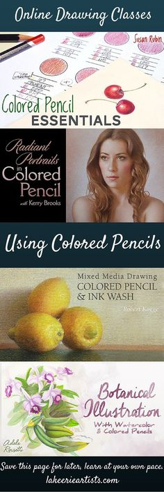 Learn to draw with colored pencils in a wide variety of techniques from beginner on up. Online art classes.