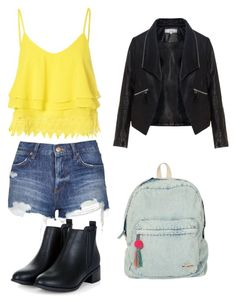 """Untitled #521"" by hannahjoyjacob on Polyvore featuring Glamorous, Topshop, Zizzi, Billabong, women's clothing, women, female, woman, misses and juniors"
