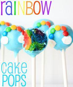 DIY: Rainbow Cake Pops