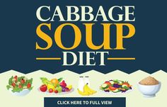 Cabbage Soup Diet - The 7-day Effective Cabbage Soup Diet Plan