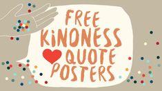 Kindness Posters: Free Downloads for the Classroom - WeAreTeachers
