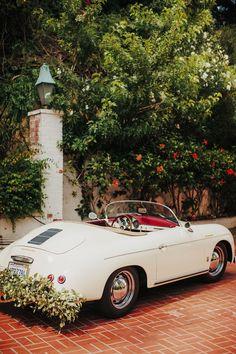 #transportation  Photography: Tyler Branch - tylerbranchphoto.com/  Read More: http://www.stylemepretty.com/california-weddings/2014/11/05/vintage-chic-bel-air-estate-wedding/