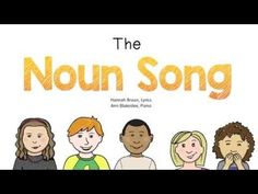 Confessions of a Teacher: I Sing Cheesy Songs- Part 1 - The Classroom Key Nouns Kindergarten, Teaching Nouns, Student Teaching, Teaching Reading, Kindergarten Reading, Teaching Music, Teaching Spanish, Learning, Nouns First Grade
