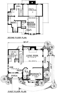 1183 Sq. Ft. House Plan [11-001-275] from Planhouse - Home Plans, House Plans, Floor Plans, Design Plans