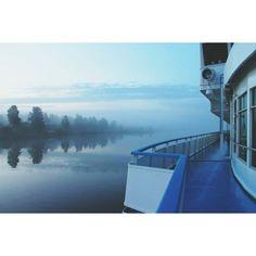 3am somewhere between Lake Onega and Lake Ladoga, #Russia
