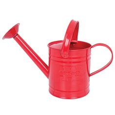 Children's Red Metal Watering Can — Ele and Me