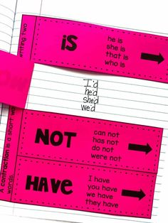 Teach students to use apostrophes in contractions with this engaging hands-on resource. This bundle includes eight days of lessons and activities, a PowerPoint presentations, an anchor chart, two interactive notebook pages, class games, task cards, a fun contraction cootie catcher, and a quick assessment. This is a complete hands-on mini unit. #HollieGriffithTeaching #AnchorCharts #2nd