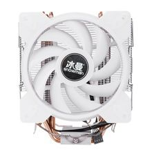 Snowman Full Color Led Cpu Fan Cooler Master 4 Direct Contact