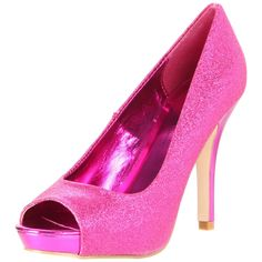 Sparkly pink shoes :)