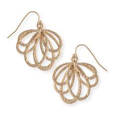 Livia Loop Fan Earrings