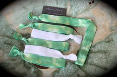 The  Hippie Chic  6 Piece Bundle of Tie Dye Knotted by PlumPosh, $9.50