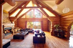 Mountain Living Log Home | Luxury Retreats
