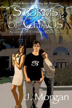Karen's Killer Book Bench: STORMS OF CHAOS, Scrolls of Eternity ~ Book Two, by J. MORGAN, includes #excerpt! http://www.karendocter.com/karens-killer-book-bench-storms-of-chaos-by-j-morgan.html