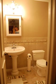 Very Small Bathrooms | Very Small Bathroom Update, We had an extremely small master bathroom ...