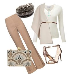"""work"" by karanlyn on Polyvore featuring River Island, Nina Ricci, Nine West, KOTUR, women's clothing, women, female, woman, misses and juniors"