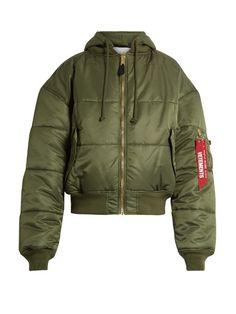 Vetements X Alpha Industries reversible bomber jacket