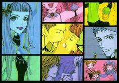 Paradise Kiss by Yazawa Ai Manga Girl, Manga Anime, Yazawa Ai, Paradise Kiss, Nerd Love, Japanese Art, Aurora Sleeping Beauty, Fan Art, Vintage