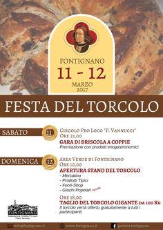 Come ogni anno, la seconda domenica di Quaresima, quest'anno il 12 Marzo, tra storie e tradizioni a Fontignano torna la Festa del Torcolo!