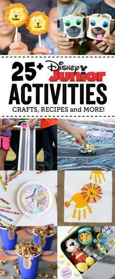25 Disney Junior Activities