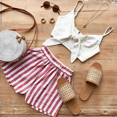 The perfect Fourth of July outfit ✨ psst! hop on our website now for a mystery code. Get this look: Sweet Honey Shorts & The Rafael Set Top! 4th Of July Outfits, Cute Summer Outfits, Holiday Outfits, Classy Outfits, Casual Outfits, Cute Outfits, Fashion Outfits, Fashion Trends, Fashion Looks