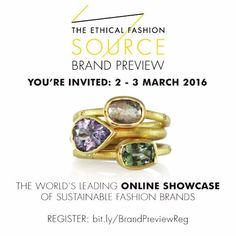 I am very proud and excited to invite you all to attend this wonderful online event where Luca Jouel and many other fantastic designers who are committed to ethical and sustainable practices will be showcasing our brands  Simply register to attend then log in to any of the 12 one-hour sessions that interest you  And of course there are only so many people I can tag in so feel free to share or invite anyone else who you think would be interested!  #lucajouel #finejewelry #australianjewellery…