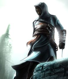 Altair - Assassin's Creed by Rahll - Amazing Digital Artwork - Assassin's Creed   <3