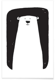 Bear - Richard Hood - Premium Poster