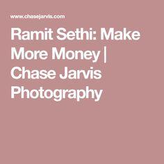 Ramit Sethi: Make More Money | Chase Jarvis Photography