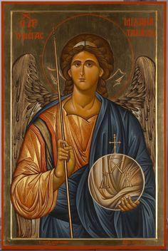 Παναγία Ιεροσολυμίτισσα: Ο ΑΡΧΙΣΤΡΑΤΗΓΟΣ ΜΙΧΑΗΛ