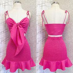 Pink, Summer Dresses, Fashion Design, Kpop, Instagram, Videos, Luxury Bags, Over Knee Socks, Dressmaking