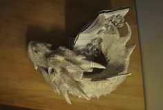 Artist Turns The Hobbit Book Into Paper Sculpture Of Smaug