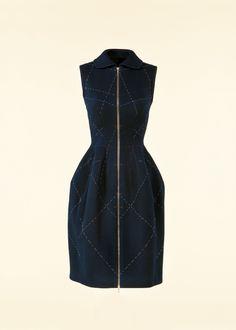 Azzedine Alaïa dress, winter 2007 collection, photograph by Robert Kot