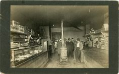 """Old General Store Interior   Vintage Mounted Photo """"Interior General Store"""", Photography, Paper ..."""