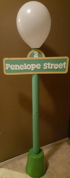 Sesame Street Street Sign