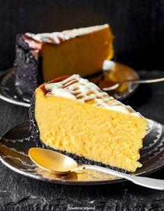 Oreo Crust Pumpkin Cheesecake