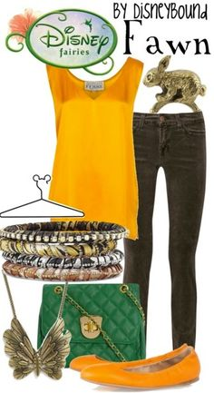 Disney Bound fashion-ideas