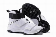 Buy Nike Zoom LeBron Soldier 10 White-Black/Metallic Silver Top Deals from  Reliable Nike Zoom LeBron Soldier 10 White-Black/Metallic Silver Top Deals  ...