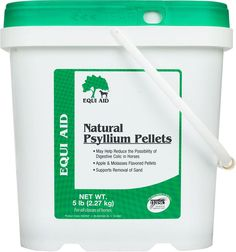 Natural Psyllium Fiber for Horses 5 lb (10 - 20 days)