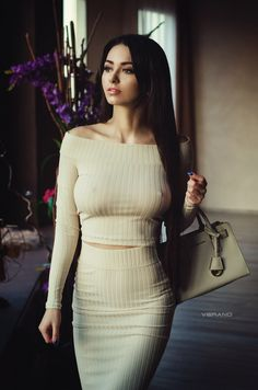 Hot Girls in Tight Dresses Sexy Dresses, Tight Dresses, Sexy Women, Moda Chic, Femmes Les Plus Sexy, Russian Models, Girl Pictures, Ideias Fashion, Outfits