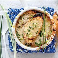 Five-Onion Soup Recipe | MyRecipes.com