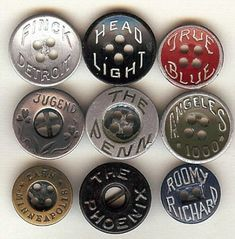 1940s workwear pants buttons