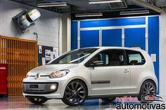 Volkswagen apresenta novo conceito do up! TSI no Bubble Gun Treffen 2015 - Notícias Automotivas - Notícias de carros