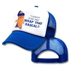 The trucker hat that makes wearing a condom pretty cool. | 24 Weird Gifts For People Who LoveCondoms