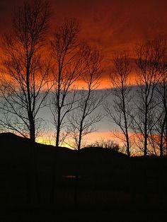 Ominous sunset III