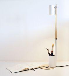 Potlamp - Zaira Holgado #design #product #decor #lamp #white #diseño #decoración